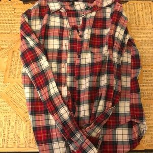 Forever 21 plaid button-up shirt